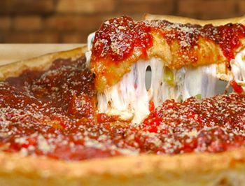 Chicago's Deep Dish Pizza